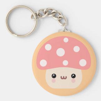 Mushroom Friends Keychain