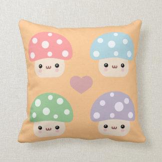 Mushroom Friends Pillow