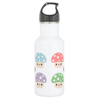 Mushroom Friends Stainless Steel Water Bottle