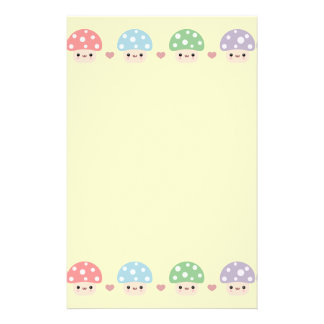 Mushroom Friends Stationery