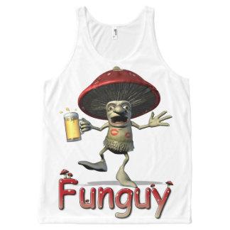 Mushroom Funguy All-Over-Print Tank Top