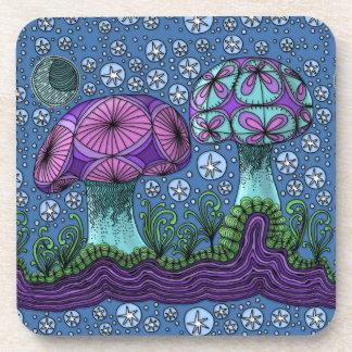 Mushroom Galaxy Coasters