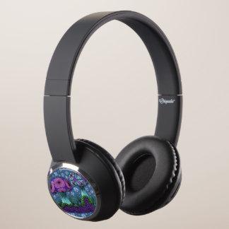 Mushroom Galaxy Headphones
