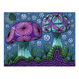 Mushroom Galaxy Postcard