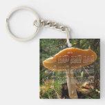 Mushroom Giant; 2013 Calendar Acrylic Keychain