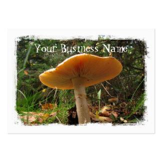Mushroom Giant Large Business Card