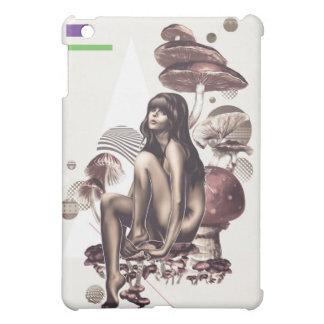 Mushroom Girl iPad case