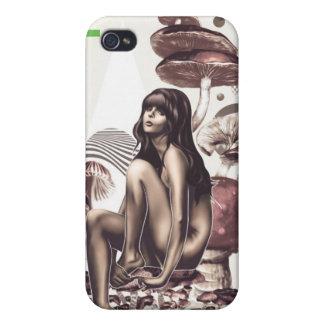 Mushroom Girl iPhone 4 case
