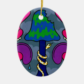 Mushroom Gloom #2 Christmas Tree Ornaments