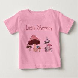 Mushroom Grouping Baby T-Shirt