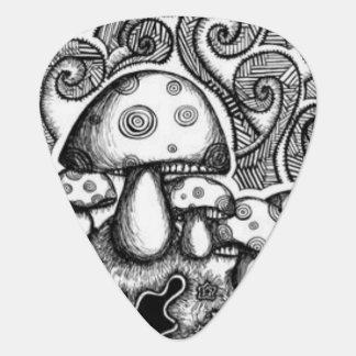 Mushroom Guitar Pick