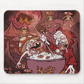 Mushroom Hell Mousepads