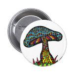 Mushroom Hill Pinback Buttons