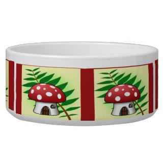 Mushroom House Bowl