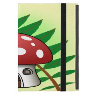 Mushroom House Covers For iPad Mini