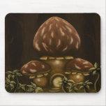 mushroom house fantasy mousepad