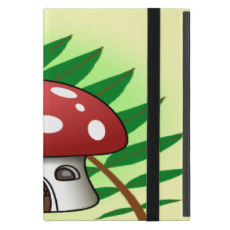 Mushroom House iPad Mini Cover