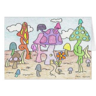 Mushroom House Neighborhood Card