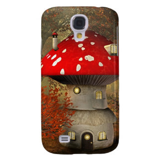 mushroom house samsung s4 case