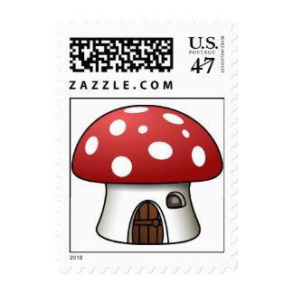 Mushroom House Stamps
