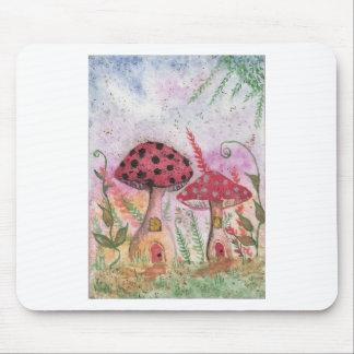 Mushroom Houses Mousepads