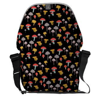 Mushroom hunting courier bag