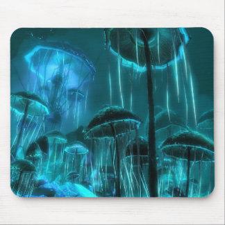 Mushroom Jellyfish Mouse Pad