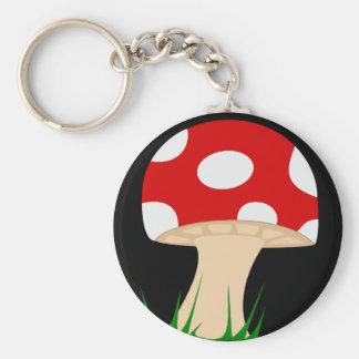 Mushroom Keychain