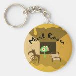 mushroom keychains