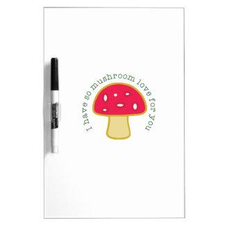 Mushroom Love Dry-Erase Boards