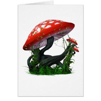 Mushroom Magic Card