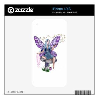 Mushroom Magic Fairy Decal For iPhone 4