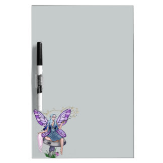 Mushroom Magic Fairy Dry-Erase Board