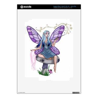 Mushroom Magic Fairy iPad 3 Skins