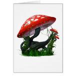 Mushroom Magic Greeting Card