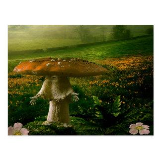 Mushroom Man Postcard