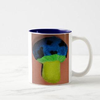 Mushroom Two-Tone Coffee Mug