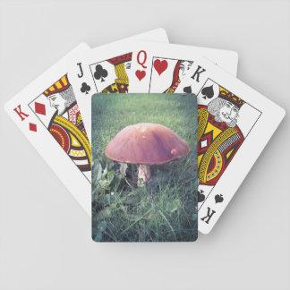 Mushroom Poker Cards