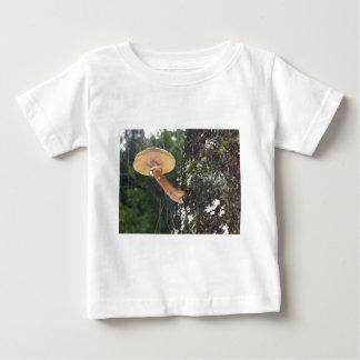 Mushroom on Tree Trunk Baby T-Shirt