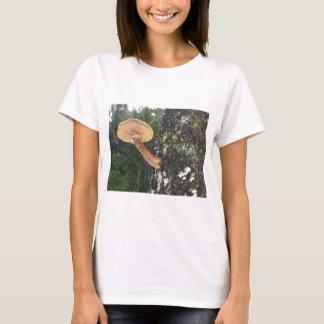Mushroom on Tree Trunk T-Shirt