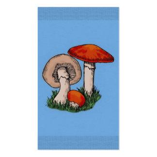 Mushroom Painting Business Cards