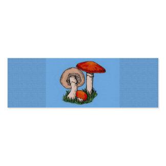 Mushroom Painting Business Card Templates