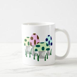 Mushroom Patch Classic White Coffee Mug