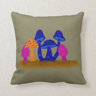 Mushroom Patch Pillow