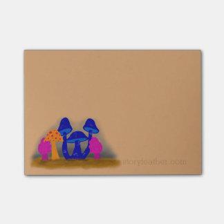 Mushroom Patch Post-it® Notes