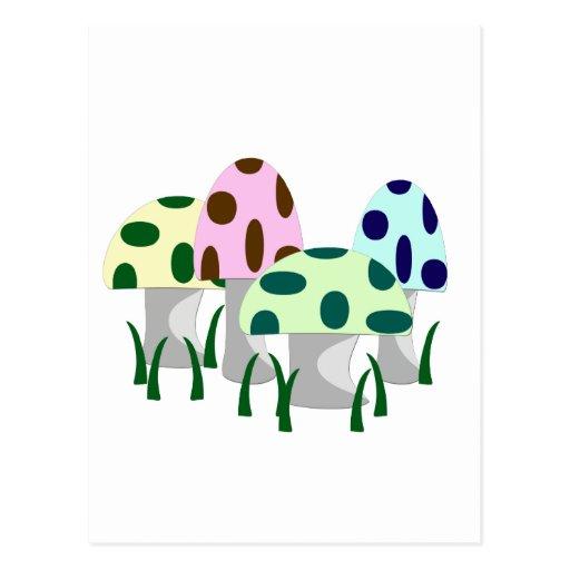 Mushroom Patch Postcards