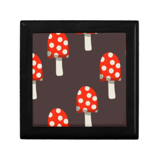 Mushroom Pattern Gift Box