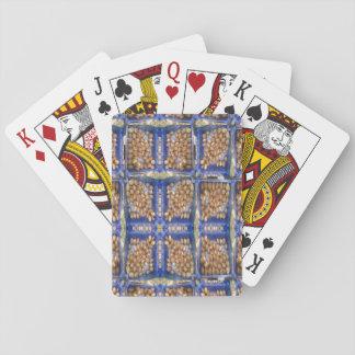 mushroom pattern card deck