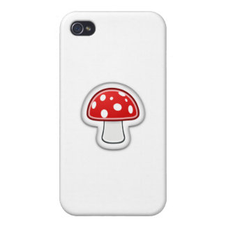 Mushroom  Phone Cover For iPhone 4