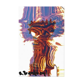 """Mushroom Pillar"" Stretched Canvas Prints"
